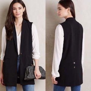 Anthropologie | Cartonnier Jess Long Tailored Vest